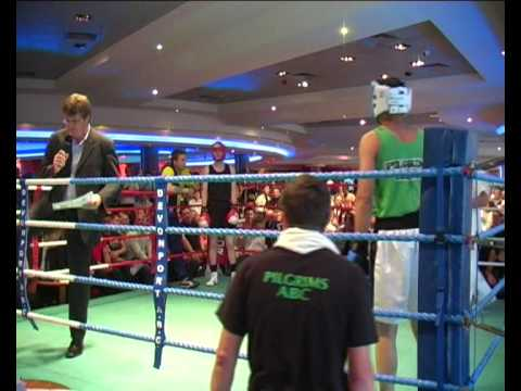 Pilgrims & Temecula Boxing Townley Vs Robins - Mayflower Abc Casino Boxing Show In Plymouth