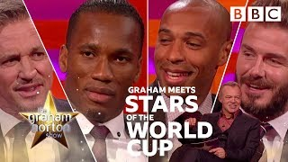 Graham meets World Cup stars! - BBC