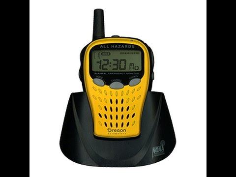 Unboxing Video of the Oregon Scientific WR601N Handheld Weather Radio