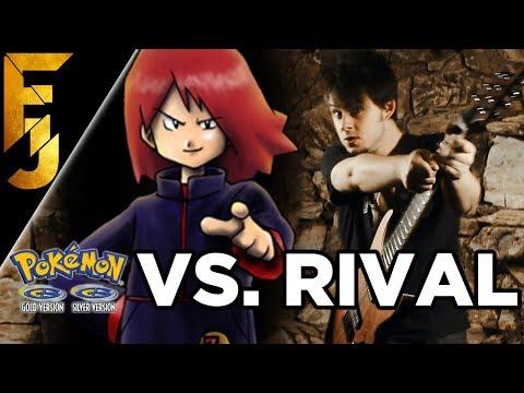 Pokémon Gold/Silver - Vs. Rival Guitar Cover | FamilyJules