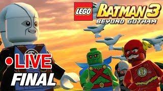 Lego Batman 3 : Beyond Gotham - CONFUSÃO NA PRISÃO  - PARTE 8 - FINAL