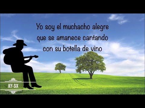 El Muchacho Alegre - El Trono de México (Letra)