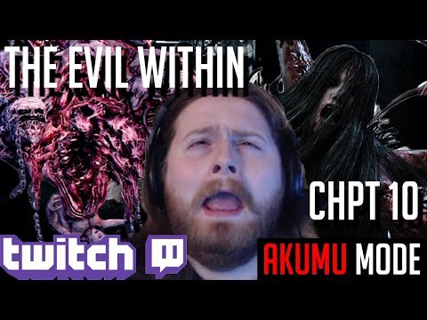Twitch Stream #9 - Trophy Hunt | The Evil Within: Akumu Mode - GAWD HELP ME! [Part 9]