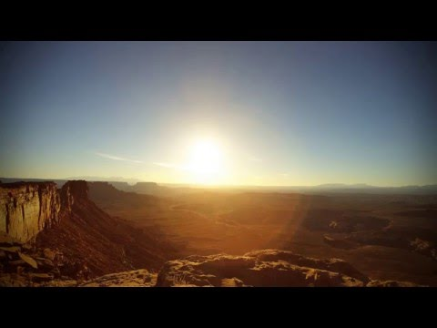 Panorama Point Sunrise Time Lapse - Maze District Canyonlands Nation Park