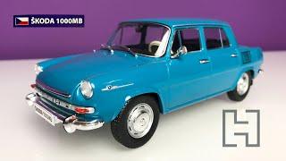 1:24 Skoda 1000MB - Automobile de neuitat (Nr.16) - Hachette