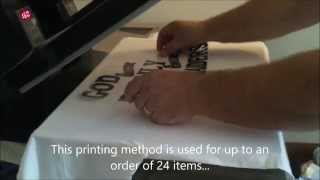 How to make your t shirt with a Heat Press and Vinyl cutter
