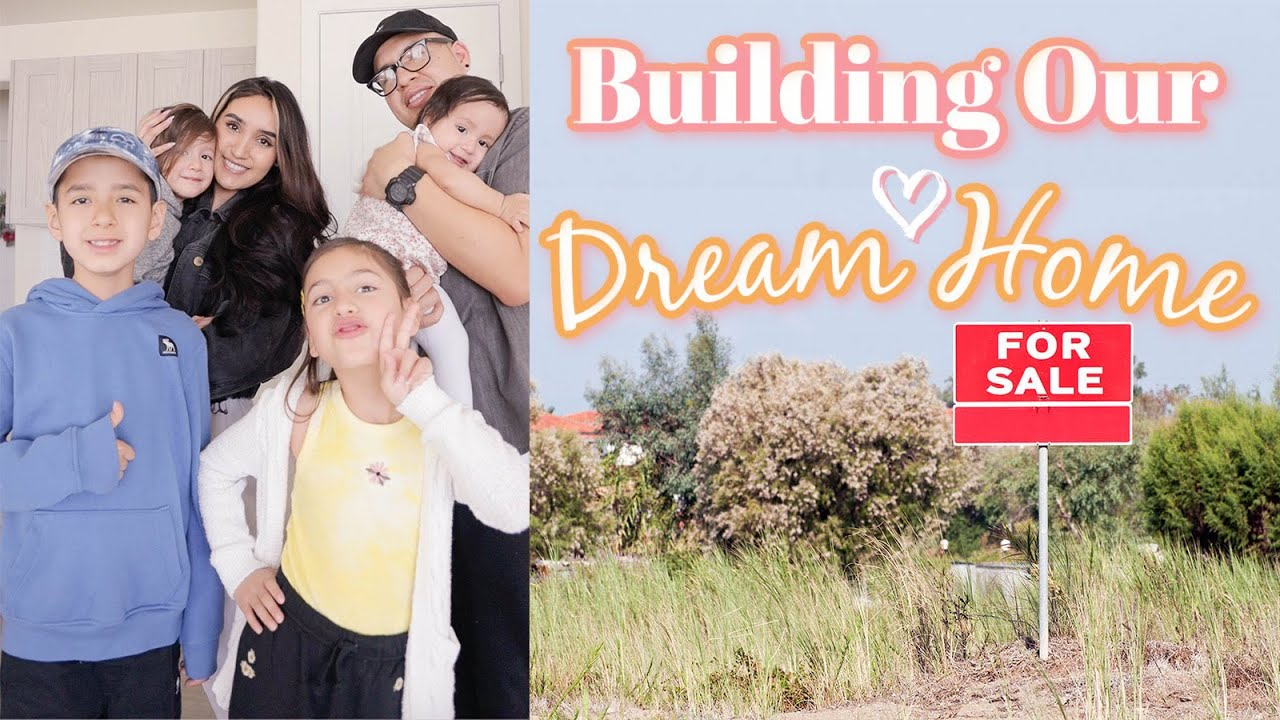 We're BUILDING OUR DREAM HOME 🏡 💕2021