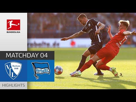 Bochum Hertha Berlin Goals And Highlights