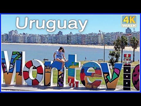 【4K】WALK Montevideo Shopping Mall URUGUAY 4K video UY travel