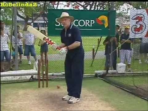 The 'Hook shot' in cricket, as taught by Ian Chappell