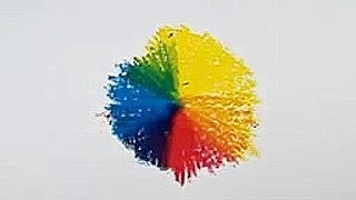 How to Draw a Colour Wheel using 3 Primary Colours