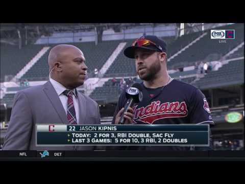 Jason Kipnis and Cleveland Indians loved hearing 'Let's Go Tribe' chants on the road