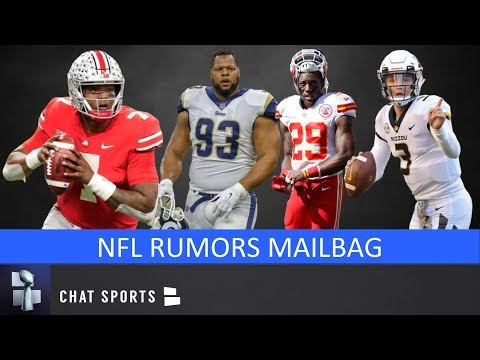 NFL Rumors: Eric Berry Interest, Ndamukong Suh To Titans, Start Drew Lock & Dwayne Haskins | Mailbag