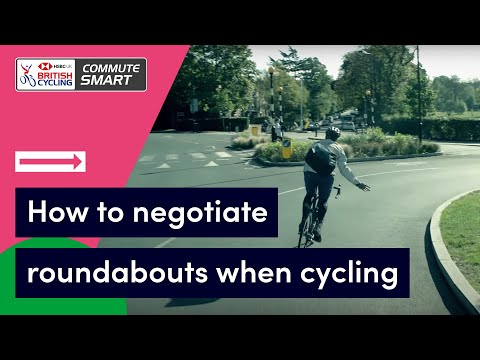 How to negotiate roundabouts when cycling | Commute Smart