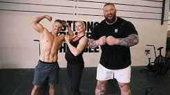 Worlds Fittest Woman vs Worlds Strongest Man (HARDEST SESSION OF MY LIFE - I ALMOST PASS OUT!)