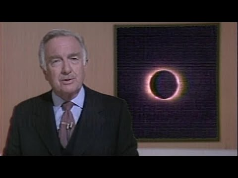 Watch Walter Cronkite report on solar eclipse in 1979