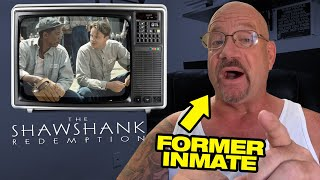 "Former Inmate Reviews Prison Movie, ""The Shawshank Redemption"" - one of my favorite movies 