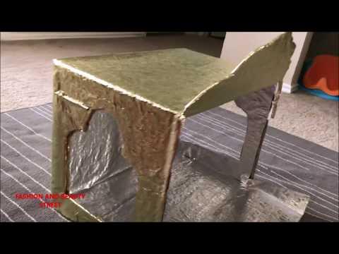 EASY DIY / TEMPLE MAKING AT HOME / 50 रुपये में घर पे आसानी से मंदिर कैसे बनाये