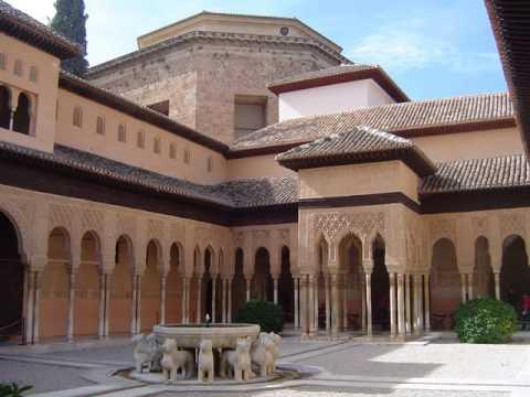 La alhambra de granada arquitectura nazar youtube for Arquitectura granada