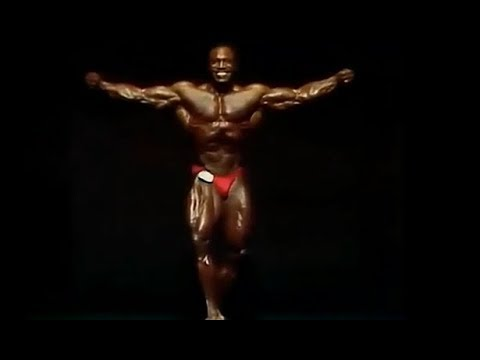 Lee Haney Mr. Olympia 1986 Posing
