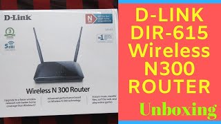 Dlink DIR 615 Router Unboxing and Setup