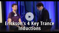Hypnosis Demo: Erickson's 4 Key Trance Inductions