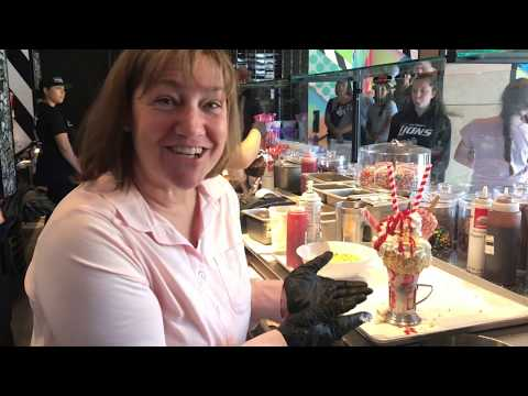 Try the Strawberry Shortcake CrazyShake at Downtown Disney's New Black Tap (Video)