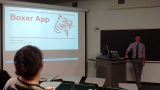 Boxer App: A Pacific University Mobile Application Senior Project Presentation