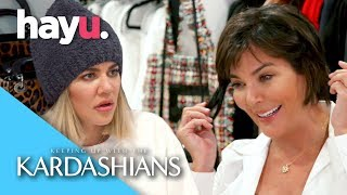Kris Is Concerned Over Her Droopy Earlobes | Keeping Up With The Kardashians