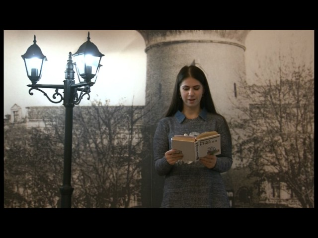 Изображение предпросмотра прочтения – ВалерияВергунова читает произведение «Грядущие гунны» В.Я.Брюсова