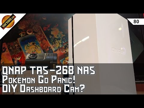 QNAP TAS-268 Android NAS Review, Recording Traffic Stops, Unlimited Backup For $60, Dash Cam Recco!