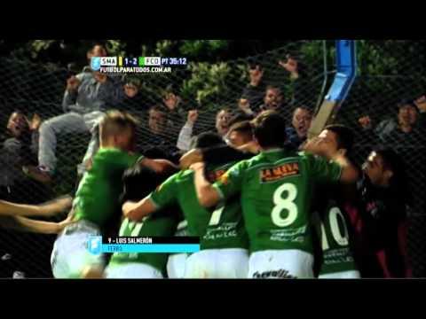Gol de Salmerón. Santamarina 1 Ferro 2. Reducido. Torneo Primera B Nacional.FPT