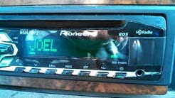HD Radio and RDS on Pioneer DEH-4400HD Car stereo
