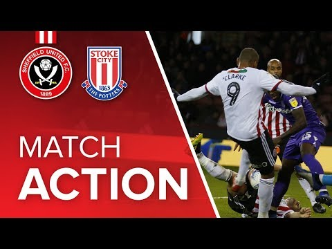 Blades 1-1 Stoke - match action