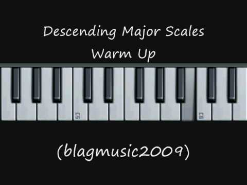 7ae15c3a81 Descending Major Scales Warm Up Exercise (Opera Style)