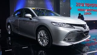 The All-new 2019 Toyota Camry Launched in the Philippines