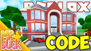 Roblox Robloxian Highschool - MANSION UPDATE! NEW CODE, VELOCITA SUPER CAR, SWIM IN THE OCEAN!