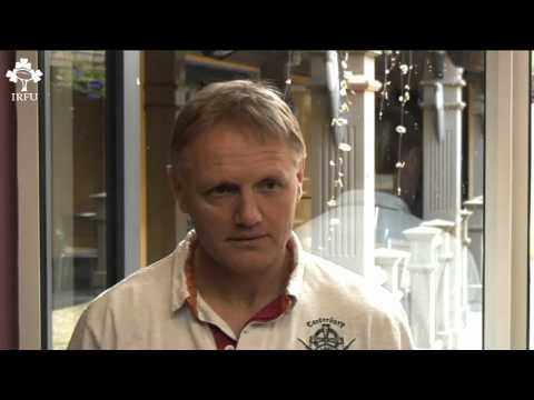 Irish Rugby TV: Joe Schmidt Interview
