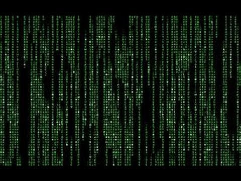 How to make Matrix in notepad - YouTube
