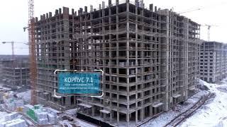 """видео: ЖК """"Испанские кварталы"""" 5 января 2018"""