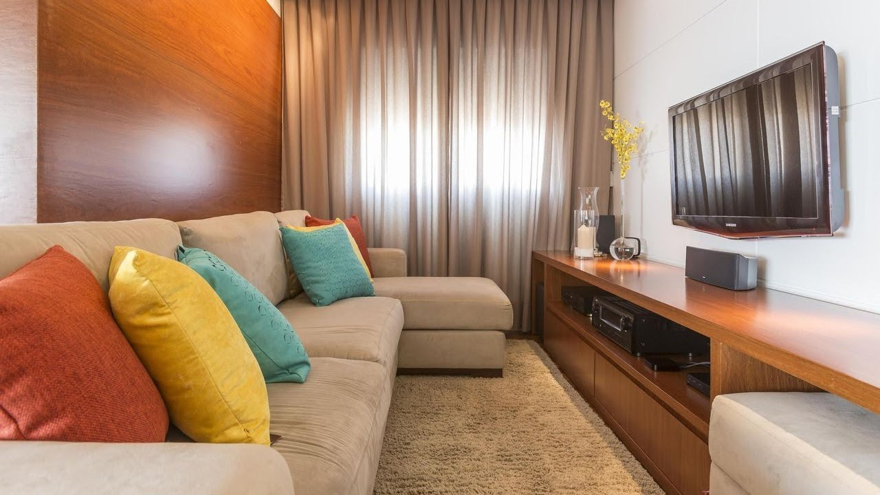 Dicas simples para decorar uma sala pequena YouTube -> Decoração De Interiores Salas Simples