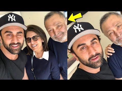 Ranbir Kapoor enjoying with father Rishi Kapoor and mom Neetu in NewYork | Mp3