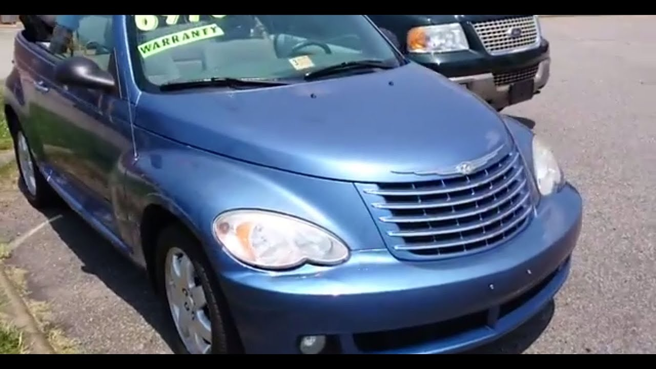 2007 chrysler pt cruiser convertible 2 4 turbo walk around. Black Bedroom Furniture Sets. Home Design Ideas