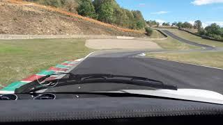 LANCIA STRATOS à moteur V6 Alfaromeo sur le  circuit de charade