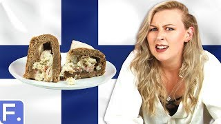 Irish People Taste Test Finnish Food
