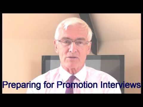 Promotion Interviews - Preparing for promotion interviews - YouTube