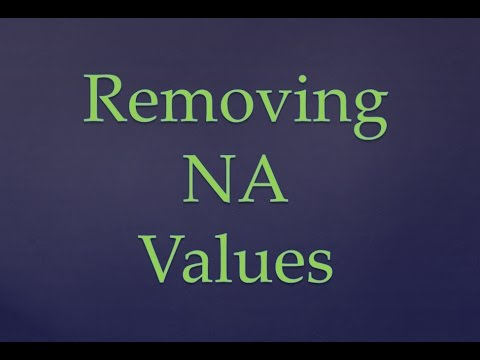 R Programming|| Removing NA Values From Dataset In R ||Removing NA Values From Dataframes In R
