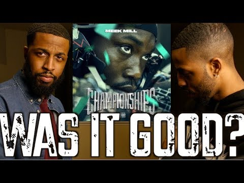 MEEK MILL  CHAMPIONSHIPS  FULL ALBUM REVIEW AND REACTION #MALLORYBROS 4K