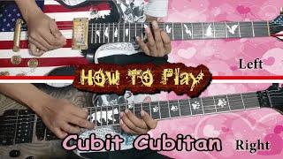 Cubit Cubitan - SLANK / Nirina Zubir / Koes Plus ( Solo Cover + Lesson TUTORIAL ) Lyric / Lirik