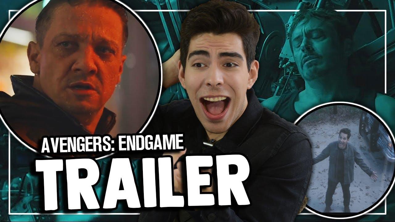 Reacción / Opinión: Trailer de AVENGERS: ENDGAME (AVENGERS ...